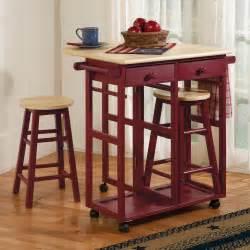 drop leaf kitchen cart amp stools sturbridge yankee workshop kitchen island tables kitchen island tables with stools