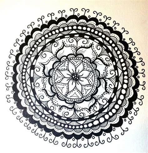 doodle name agus las mejores im 193 genes de mandalas en banco y negro para