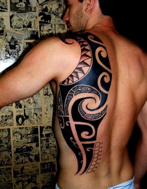 polynesian back tattoo 48 coolest polynesian designs