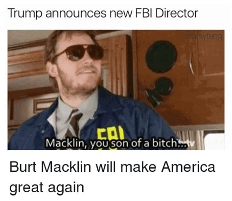 trump announces new fbi director macklin you son of a
