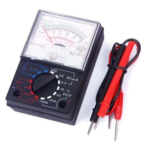 Probe Multitester electric ac dc ohm voltmeter ammeter multimeter meter