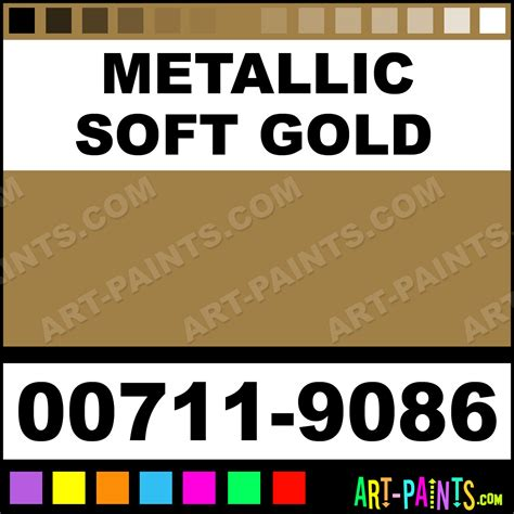 metallic soft gold student acrylic paints 00711 9086 metallic soft gold paint metallic soft