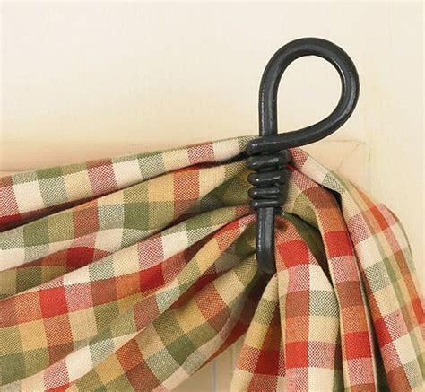 swag curtain hooks fishtail swag curtain hook loop curtains pinterest