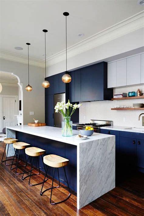 muebles azules cocina  diseno de cocina decoracion de cocina moderna decoracion de cocina