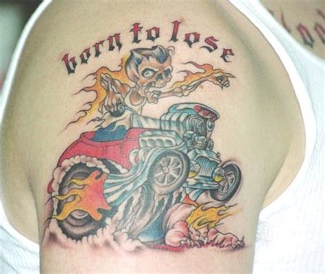 born to lose tattoo born to lose picture