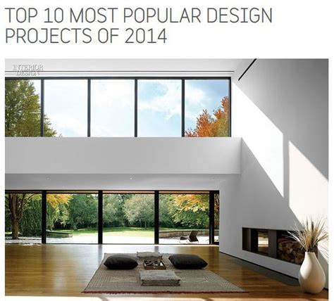 most popular home design magazines echo house ranked 1 design project of 2014 by interior