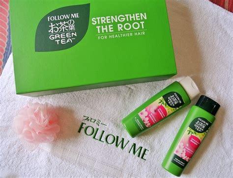 Reformulated Follow Me Green Tea Shoo 650ml lustrous healthier hair with follow me s reformulated