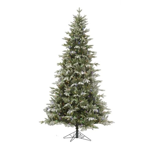 vickerman 36479 4 5 x 34 quot frosted balsam fir 200 multi