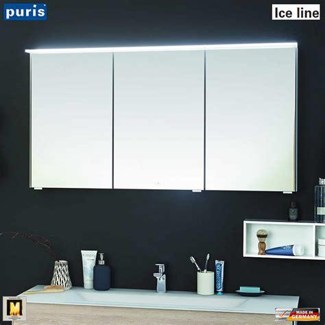 spiegelschrank puris spiegelschrank badezimmer 120 cm ocaccept