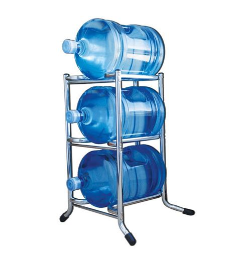 5 Gal Water Bottle Rack by 5 Gallon Water Bottle Storage Rack Chrome Foregather Net