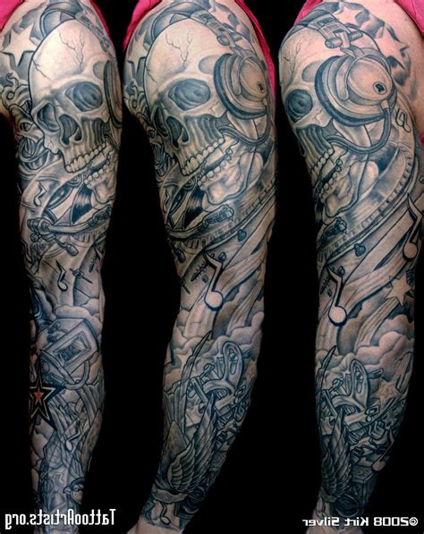 unique sleeve tattoo designs design sleeve cool tattoos bonbaden