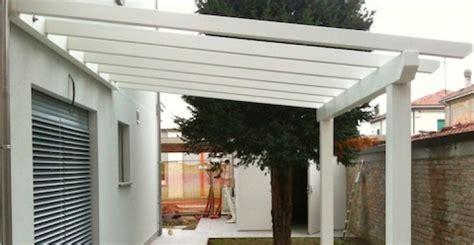 tettoie in legno bianco pergolati in legno legno costruire