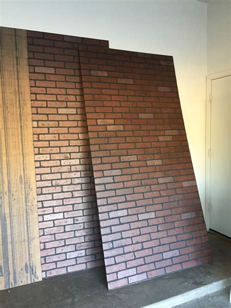 interior brick veneer home depot faux brick panels with charming brick wall false