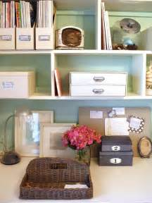 organize house chic organized home office for under 100 hgtv