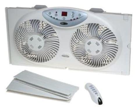 window fan with remote amazon com bionaire twin reversible airflow window fan