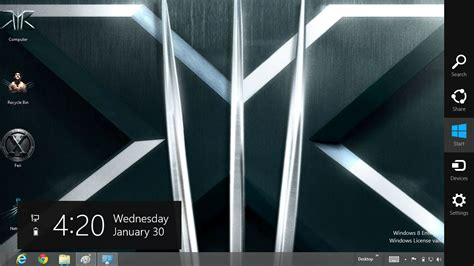 wolverine themes for windows 8 1 x men the wolverine theme for windows 8 ouo themes