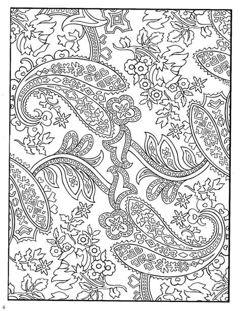 paisley designs coloring book dover paisley designs coloring book paisley prints