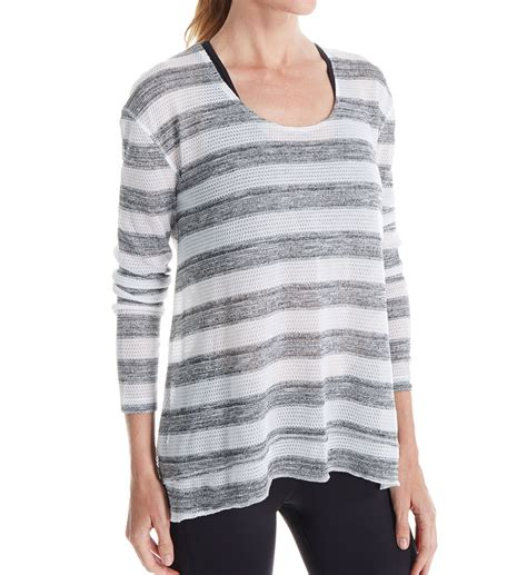 Steve Madden T Shirts For by Steve Madden Active Drippy Relaxed Twisted Back Pullover Top Smt32277 Steve Madden Active T