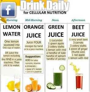 drink these daily for cellular nutrition easy fitness