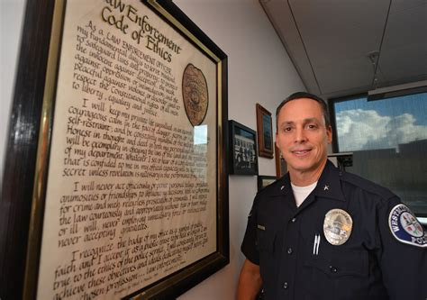 Officer Code by The Badge Homegrown Westminster Commander Makes