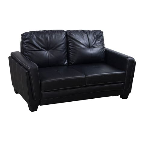 pu leather couch used pu leather couch black national office interiors