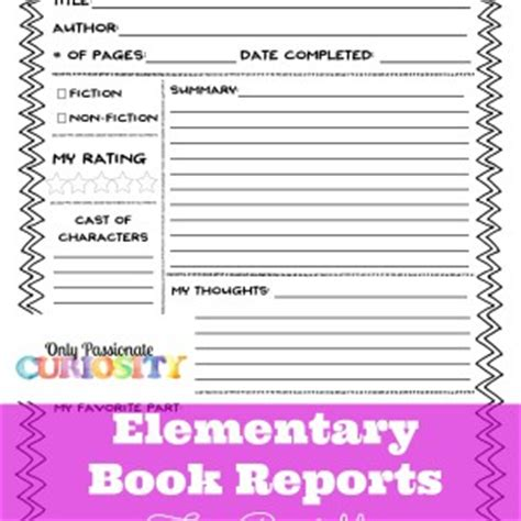 easy books to do reports on my book report
