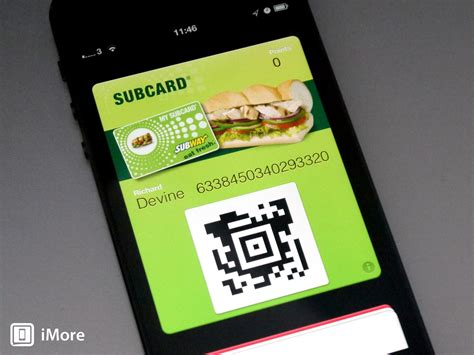 Subway Gift Card Uk - subway uk subcard app adds support for passbook imore