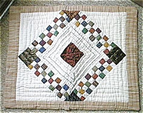 Quilted Pillow Sham Pattern by Pillow Sham Quilted Pattern Quilts At A Memory