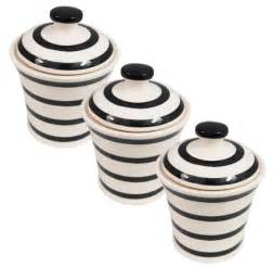 black and white kitchen canisters trendyexaminer