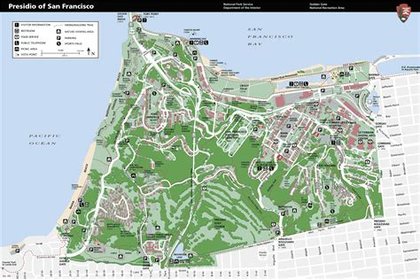 san francisco map distance flyertalk forums parking suggestions for the presidio