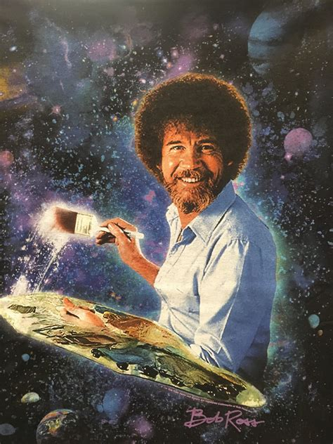 bob ross painting the universe the world s best photos of indiana and space flickr hive