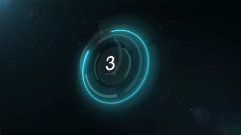 4k digital 4k high tech digital countdown timer on background