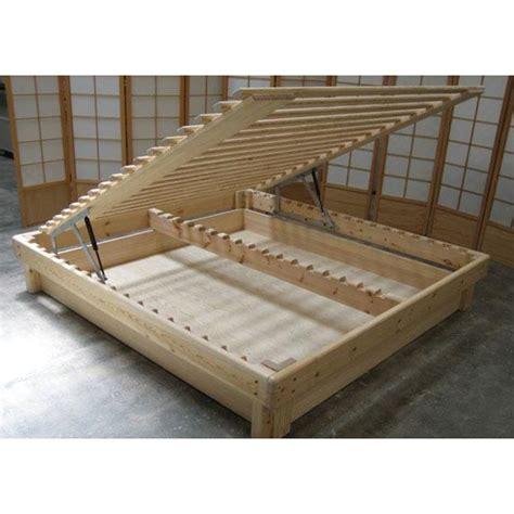 camas con somier cama somier madera fustaforma con arc 243 n abatible