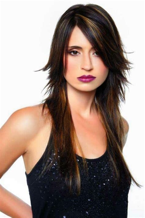 how to layer top of hair only long layers short layer up top hair ideas pinterest