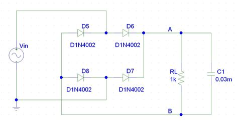 rectifier diode pspice pspice simulations 4psk type b block diagram pulse width modulation by ne555 wave