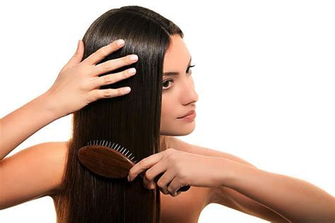 how to brush your hair 9 steps with pictures wikihow how to use a hair straightener to get smooth hair