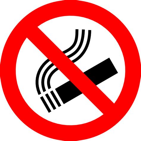 no smoking sign vector png no smoking sign clip art at clker com vector clip art