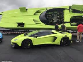 Lamborghini Marine Engine For Sale Lamborghini Aventador And Speedboat On Sale On Ebay