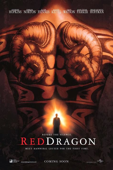tattoo red dragon movie the geeky guide to nearly everything movies red dragon