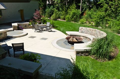 backyard with fire pit landscaping ideas fireplace design ideas