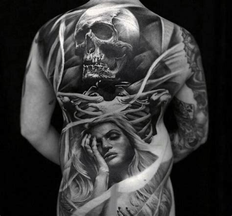 50 life death tattoo designs for men masculine ink ideas