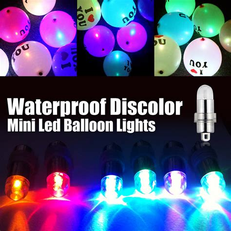 6pcs lot wholesale mini led balloon light rgb color