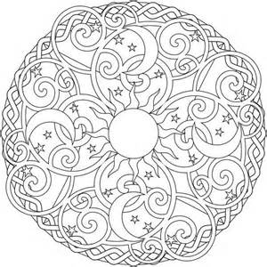 sun mandala coloring pages the sun and the moon mandala coloring pages batch coloring
