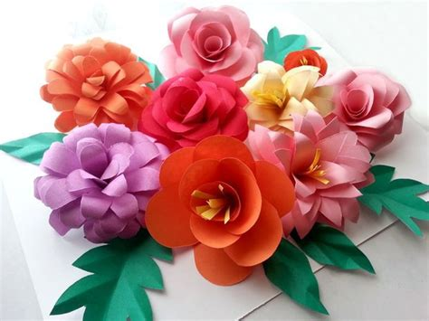 Beautiful Paper Flowers - beautiful bohemian diy paper flowers allfreepapercrafts