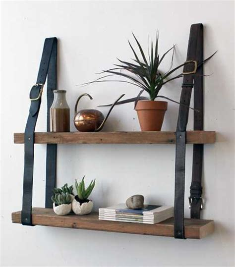 leather home decor modern ideas to reuse and recycle old belts for functional