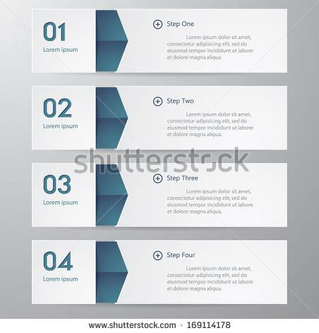 web layout options modern spiral infographics options banner vector stock