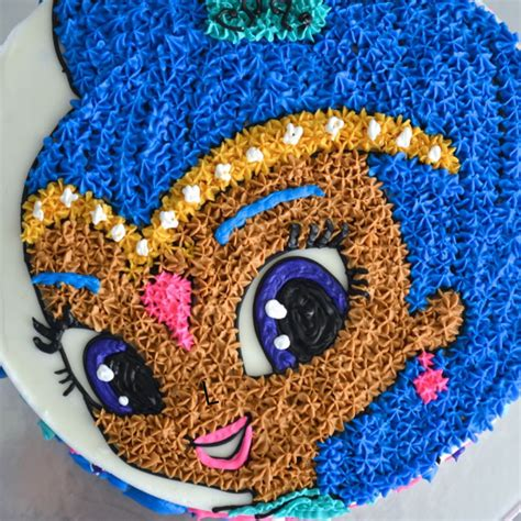 How To Make Birthday Decorations At Home by Shimmer And Shine Cake Cakecentral Com