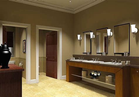 Commercial Bathroom Design Ideas - gallery