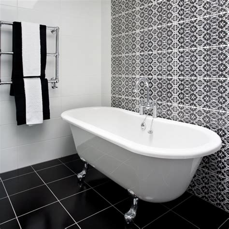 black  white bathroom designs ideal home