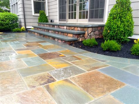 blue patio bluestone patio patterns home design ideas and pictures